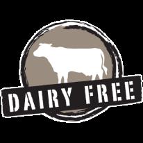 dairy free label