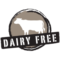 dairy free label