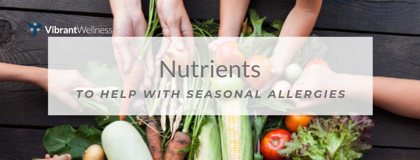 nutrient seasonal allergies blog banner